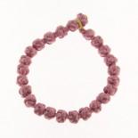 Bracciale tonalità da viola a rosa