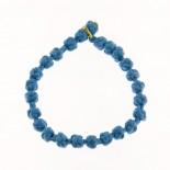 Bracciale tonalità da blu marine ad azzurro